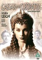 Caesar and Cleopatra - British DVD cover (xs thumbnail)