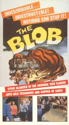 The Blob - VHS movie cover (xs thumbnail)