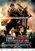 Live Die Repeat: Edge of Tomorrow - Romanian Movie Poster (xs thumbnail)