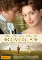 Becoming Jane - Australian Movie Poster (xs thumbnail)