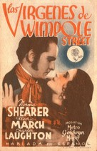 The Barretts of Wimpole Street - Spanish Movie Poster (xs thumbnail)