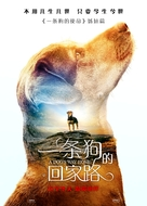 A Dog's Way Home - Chinese Movie Poster (xs thumbnail)