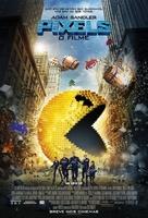 Pixels - Brazilian Movie Poster (xs thumbnail)