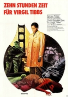 They Call Me MISTER Tibbs! - German Movie Poster (xs thumbnail)