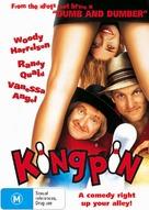 Kingpin - Australian DVD cover (xs thumbnail)