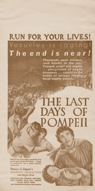 The Last Days of Pompeii - poster (xs thumbnail)