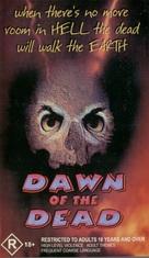 Dawn of the Dead - Australian VHS movie cover (xs thumbnail)
