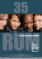35 rhums - German Movie Poster (xs thumbnail)