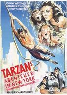 Tarzan's New York Adventure - German Movie Poster (xs thumbnail)