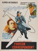 Foreign Correspondent - Indian Movie Poster (xs thumbnail)