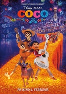 Coco - Norwegian Movie Poster (xs thumbnail)