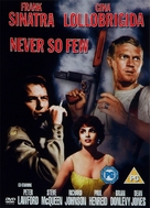 Never So Few - British DVD cover (xs thumbnail)