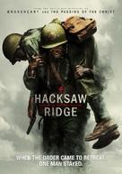 Hacksaw Ridge - DVD cover (xs thumbnail)
