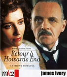 Howards End - French Blu-Ray cover (xs thumbnail)