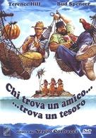 Chi trova un amico trova un tesoro - Italian DVD cover (xs thumbnail)