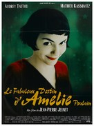 Le fabuleux destin d'Amélie Poulain - French Movie Poster (xs thumbnail)