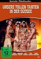 Unsere tollen Tanten in der Südsee - German Movie Cover (xs thumbnail)
