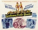Gentlemen Prefer Blondes - Theatrical movie poster (xs thumbnail)