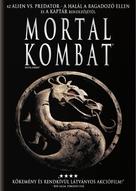 Mortal Kombat - Hungarian DVD cover (xs thumbnail)