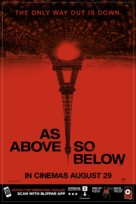 As Above, So Below - British Movie Poster (xs thumbnail)
