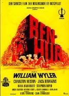 Ben-Hur - Danish Movie Poster (xs thumbnail)
