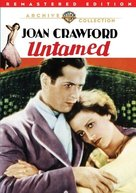 Untamed - DVD movie cover (xs thumbnail)