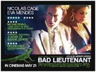 The Bad Lieutenant: Port of Call - New Orleans - British Movie Poster (xs thumbnail)