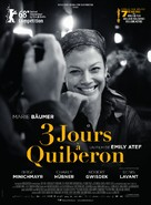 3 Tage in Quiberon - French Movie Poster (xs thumbnail)