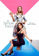 A Simple Favor - Swedish Movie Poster (xs thumbnail)