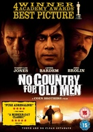 No Country for Old Men - British DVD movie cover (xs thumbnail)