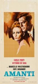 Amanti - Italian Movie Poster (xs thumbnail)
