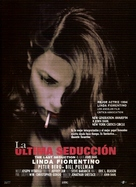 The Last Seduction - Spanish Movie Poster (xs thumbnail)