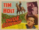 Dude Cowboy - Movie Poster (xs thumbnail)