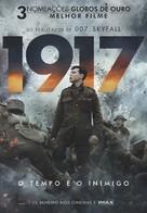 1917 - Portuguese Movie Poster (xs thumbnail)