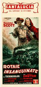 Santa Fe - Italian Movie Poster (xs thumbnail)