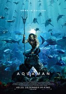 Aquaman - German Movie Poster (xs thumbnail)