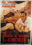 The Brave Bulls - Italian Movie Poster (xs thumbnail)