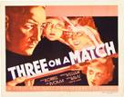 Three on a Match - Movie Poster (xs thumbnail)