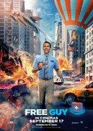 Free Guy - Indian Movie Poster (xs thumbnail)