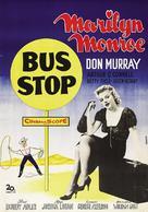 Bus Stop - Swedish Movie Poster (xs thumbnail)
