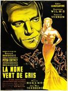 La môme vert de gris - French Movie Poster (xs thumbnail)