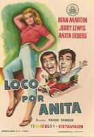 Hollywood or Bust - Spanish Movie Poster (xs thumbnail)