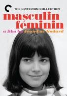 Masculin, féminin: 15 faits précis - DVD movie cover (xs thumbnail)