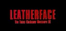 Leatherface: Texas Chainsaw Massacre III - Logo (xs thumbnail)