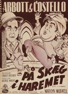 Lost in a Harem - Danish Movie Poster (xs thumbnail)