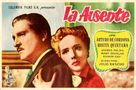 La ausente - Mexican Movie Poster (xs thumbnail)