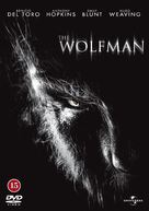 The Wolfman - Danish Movie Cover (xs thumbnail)