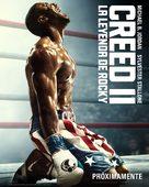 Creed II - Spanish Movie Poster (xs thumbnail)