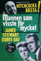 The Man Who Knew Too Much - Swedish Movie Poster (xs thumbnail)