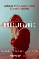 """""""Unbelievable"""" - Dutch Movie Poster (xs thumbnail)"""